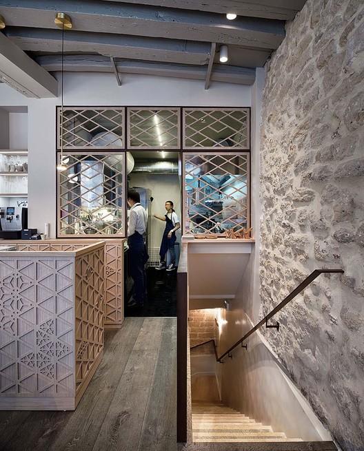 12_Restaurant_Yoshinori_-_Rez_de_chausse%CC%81e_(2) Restaurant Yoshinori / Alia Bengana architecte dplg + Atelier BEPG SASU d'Architecture Architecture