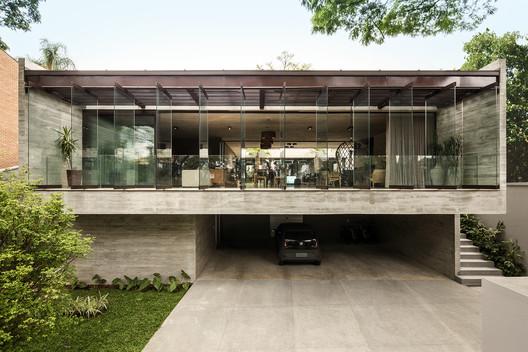 feature_image Jardins House / Drucker Arquitetos e Associados Architecture