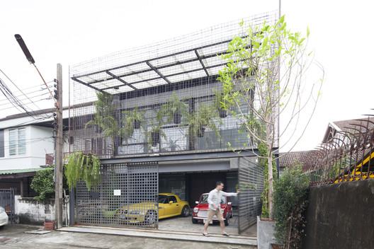 exterior2 Residence 54 / SPC Technocons Architecture