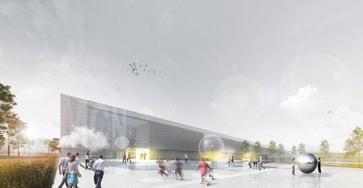 1 Heinle Wischer and Partner Awarded First Place in Małopolska Science Center Competition Architecture