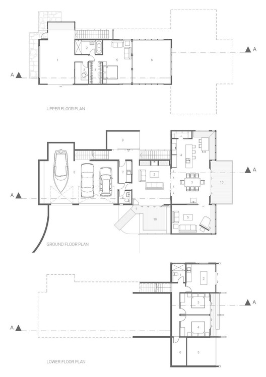 170220_Whare_Koa___Floor_Plans Whare Koa House / Strachan Group Architects Architecture