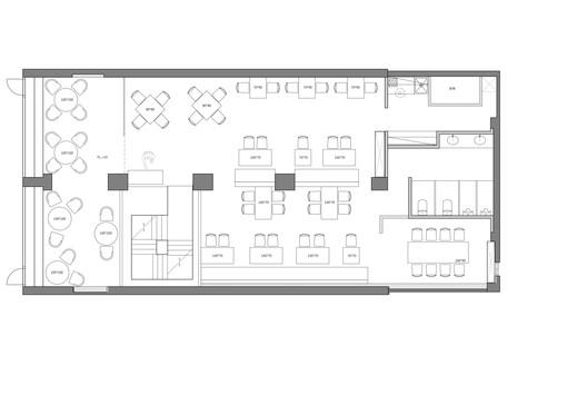 PLAN-3 Bite to Eat / HAO Design Architecture
