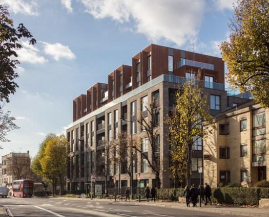 Camden Courtyards / Sheppard Robson. Image © Simon Kennedy
