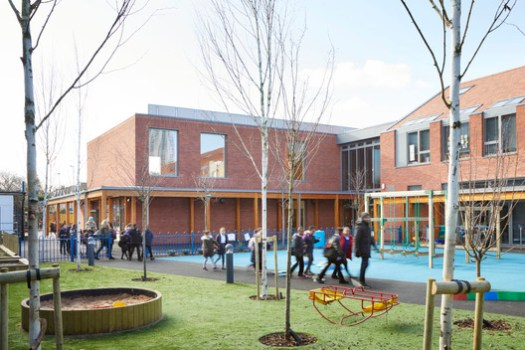 Keyworth Primary School / Hawkins\Brown. Image © Jack Hobhouse