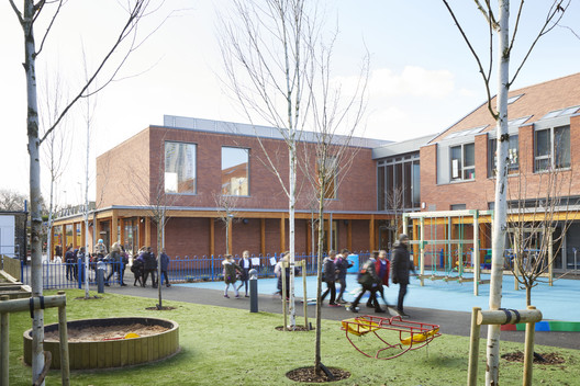 Keyworth_Primary_Sch_2740_Jack_Hobhouse_PRESSIMAGE_1 93-Building Shortlist Announced for 2018 RIBA London Awards Architecture