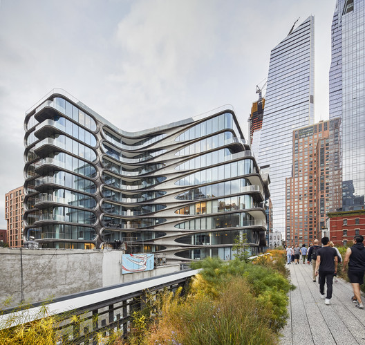 03_ZHA_520_W_28th_Street_%C2%A9Hufton_Crow 520 West 28th / Zaha Hadid Architects Architecture