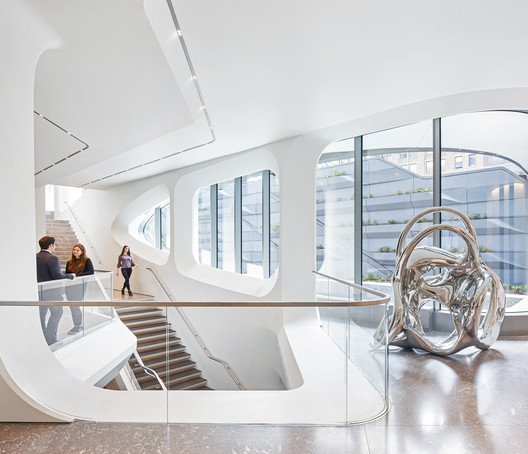 19_ZHA_520_W_28th_Street_%C2%A9Hufton_Crow 520 West 28th / Zaha Hadid Architects Architecture