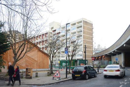 Waterloo City Farm / Feilden Fowles Architects. Image © Feilden Fowles Architects