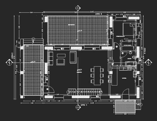 katsimpiri_plan1_ground_floor Olive and Stone Residence / Nikos Mourikis Architecture