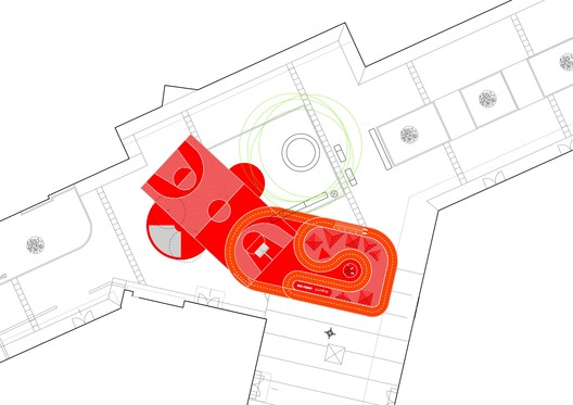 Red_Planet___Context Red Planet / 100architects Architecture