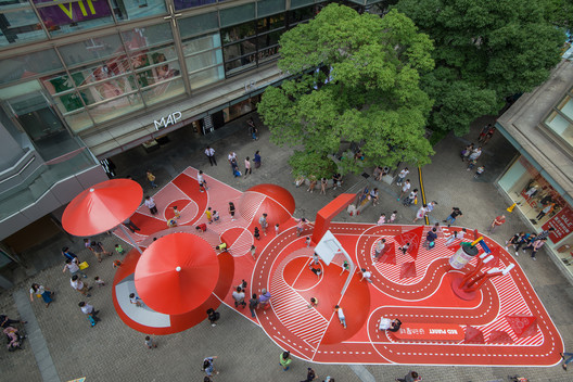 DSC_5584 Red Planet / 100architects Architecture