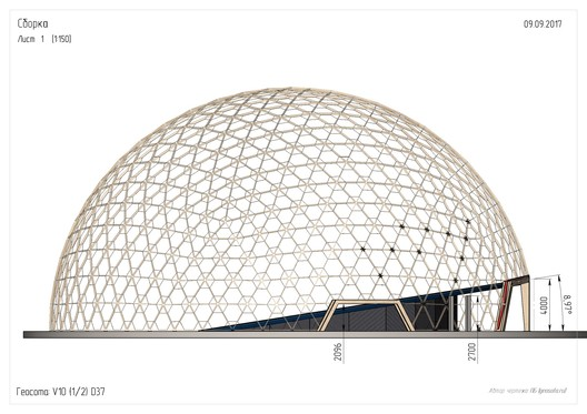 bQc5w_a2l6w This Wooden Geodesic Dome Contains the World's Largest Planetarium Architecture