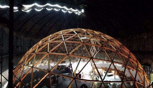 PJD5MMXMMmc This Wooden Geodesic Dome Contains the World's Largest Planetarium Architecture