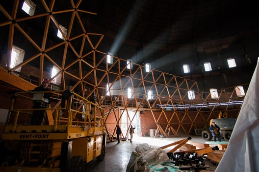 ZydrFw1U-Vk This Wooden Geodesic Dome Contains the World's Largest Planetarium Architecture