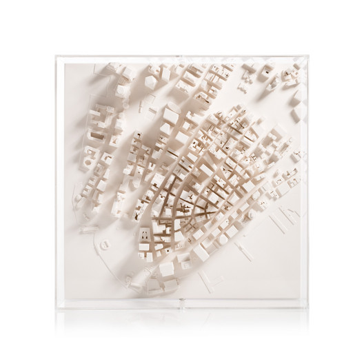 newyork-cityscape-framed-5000-front-large-v3 Chisel & Mouse Recreates Miniature Architectural Icons Perfect for Your Coffee Table Architecture