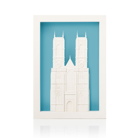 westminster-abbey-poparc-front-large-v4-niagara Chisel & Mouse Recreates Miniature Architectural Icons Perfect for Your Coffee Table Architecture
