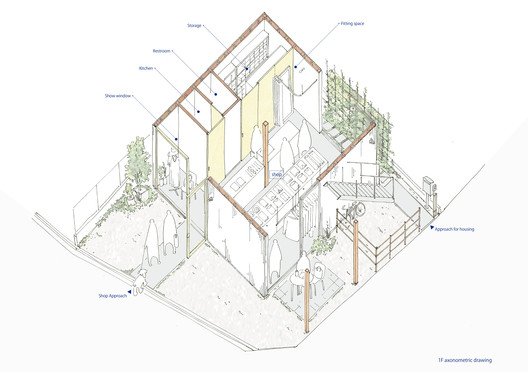 Ground Floor Axonometric