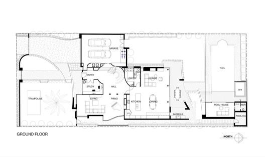Ground Floor Plan A