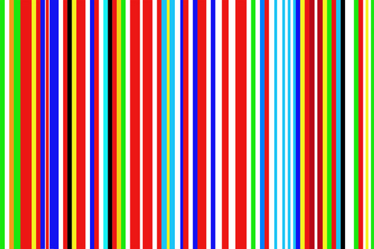 AMO's 2001 redesign of the EU flag takes colors from the banners of all member states. Image © OMA