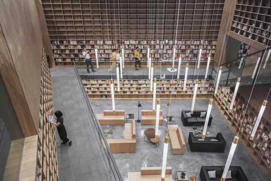 Courtesy_of_Van_Wang_Architects Explore These Architecturally Innovative Bookcases Architecture