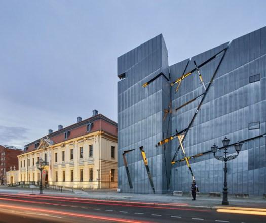 Jewish Museum Berlin. Image© Hufton+Crow