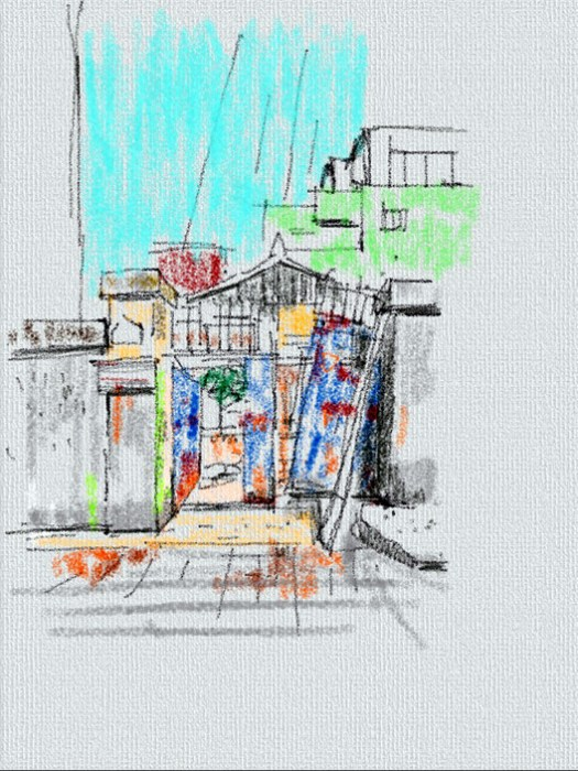 Sketch. Image Courtesy of studio_GAON
