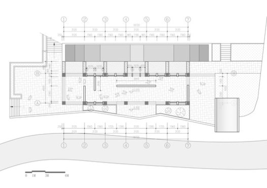 The auditorium first floor plan