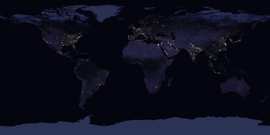 Earth at Night, 2016. Earth Science and Remote Sensing Unit, NASA Johnson Space Center