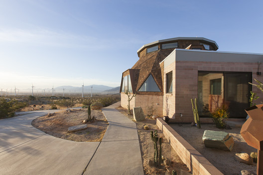 dome_017 Palm Springs Dome House / Pavlina Williams Architecture