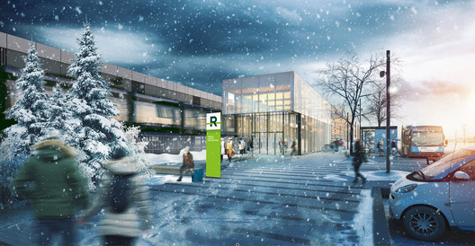 REM_DuRuisseau_hiver Lemay, Perkins+Will, and Bisson Fortin to Design Montreal Light Rail System Architecture
