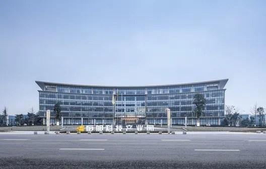 Overall Building hape. Image © Yijie Hu