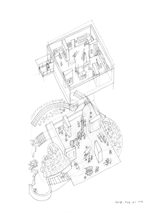Exhibition Design Drawing