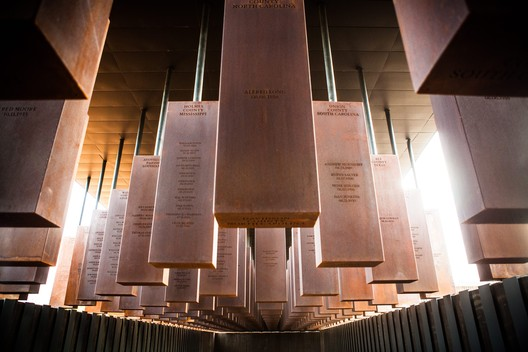 Corridor_3_-_Memorial MASS Design Group's Poignant Memorial for Victims of Lynching Opens to the Public in Alabama Architecture