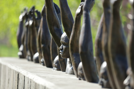Hank_Willis_Thomas_Sculpture MASS Design Group's Poignant Memorial for Victims of Lynching Opens to the Public in Alabama Architecture