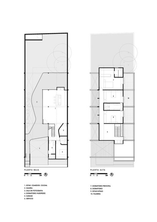 Lower Floor and Upper Floor Plans