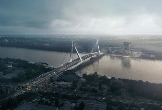 01__VA-render_1260_cam01 UN Studio Triumphs in Competition for New Budapest Bridge Over the River Danube Architecture
