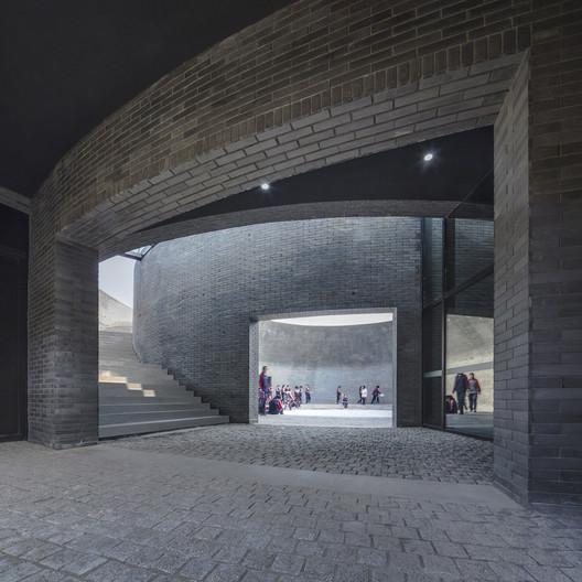 Interior of the Astronomy Pavilion. Image © Hengzhong LYU