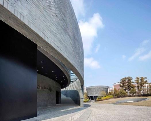 The Astronomy Pavilion and the Planetarium Pavilion. Image © Hengzhong LYU