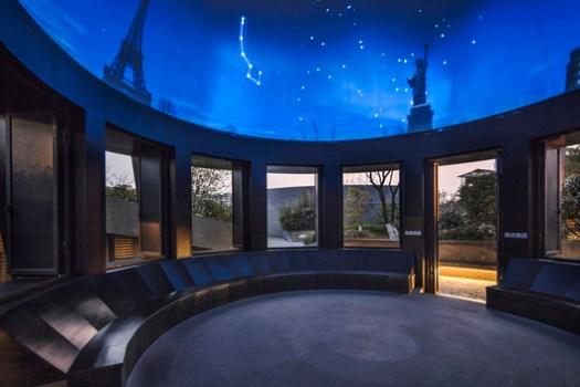 Interior of the Planetarium Pavilion. Image © Hengzhong LYU