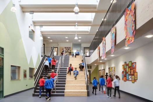 Ivydale Primary School / Hawkins/Brown. Image © Jack Hobhouse