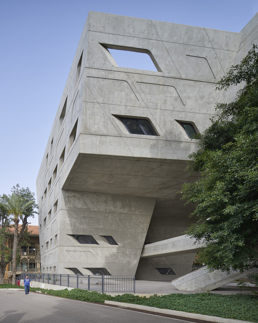 BahaaGhoussainy__(2) Zaha Hadid's Issam Fares Institute Stands Out in New Photography by Bahaa Ghoussainy Architecture