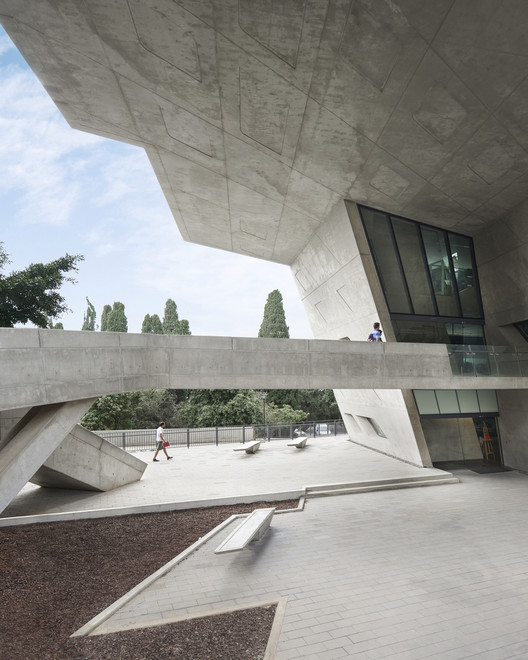 BahaaGhoussainy__(5) Zaha Hadid's Issam Fares Institute Stands Out in New Photography by Bahaa Ghoussainy Architecture