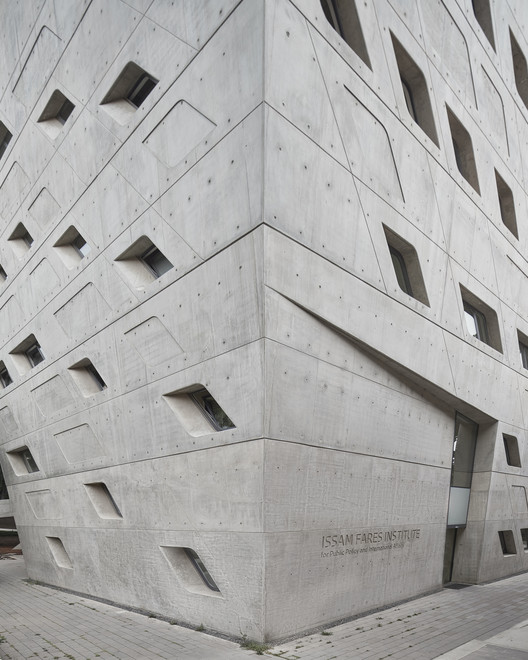 BahaaGhoussainy__(10) Zaha Hadid's Issam Fares Institute Stands Out in New Photography by Bahaa Ghoussainy Architecture
