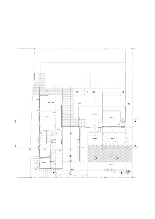 Plan_1_1-150-001 SALA Canal / Volume Matrix Studio Architecture