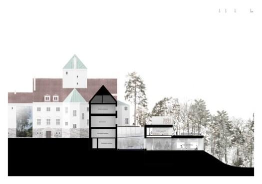 Section. Image Courtesy of Transborder Studio