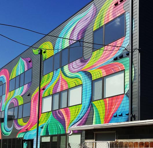 4._Rear_Mural OSLOAtlas / Square 134 Architects Architecture