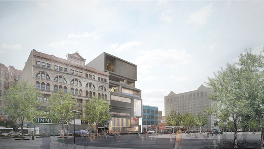 The Studio Museum in Harlem / Adjaye Associates and Cooper Robertson. Image via New York City Public Design Commission