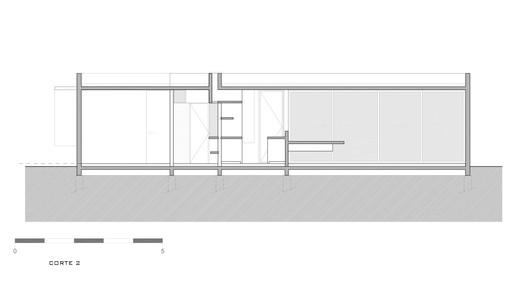 Casa-suburbana-corte2 Suburban House / Besonias Almeida Arquitectos Architecture