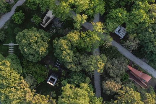 Aerial view. Image © Laurian Ghinitoiu