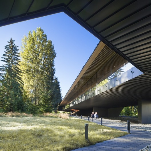 Audain Art Museum in Whistler, British Columbia, Canada, / John and Patricia Patkau. Image © James Dow / Patkau Architects